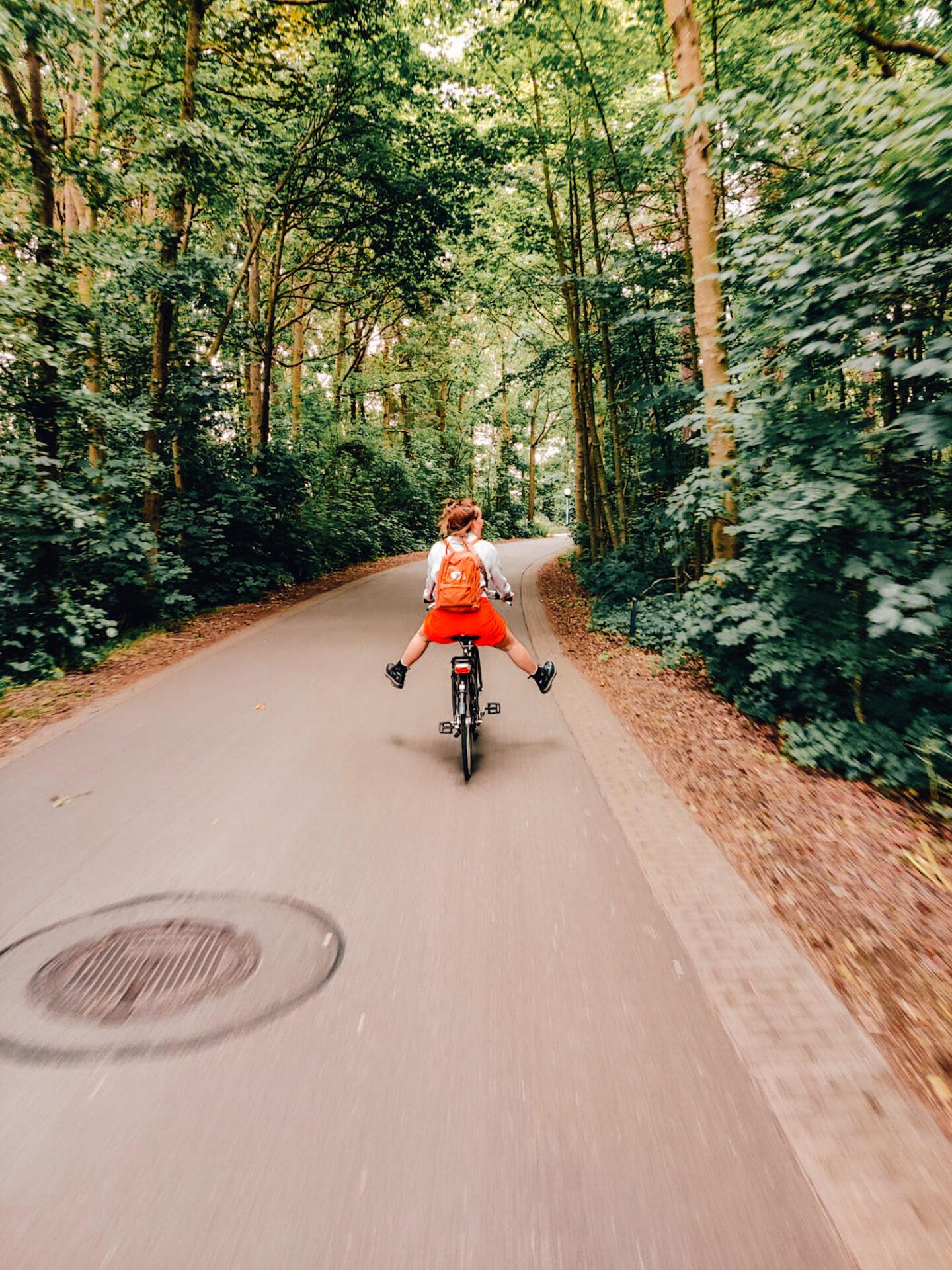 Fietsen op Texel, fietsroute, camping Dennenoord fietsverhuur