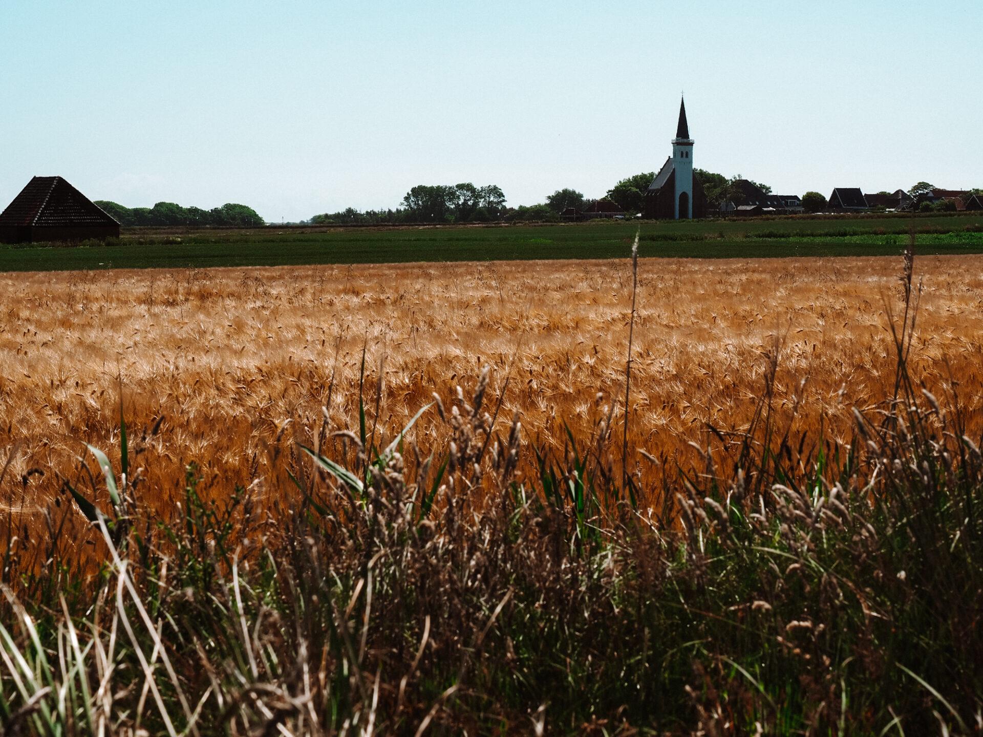 Kerkje bij Den Hoorn Texel