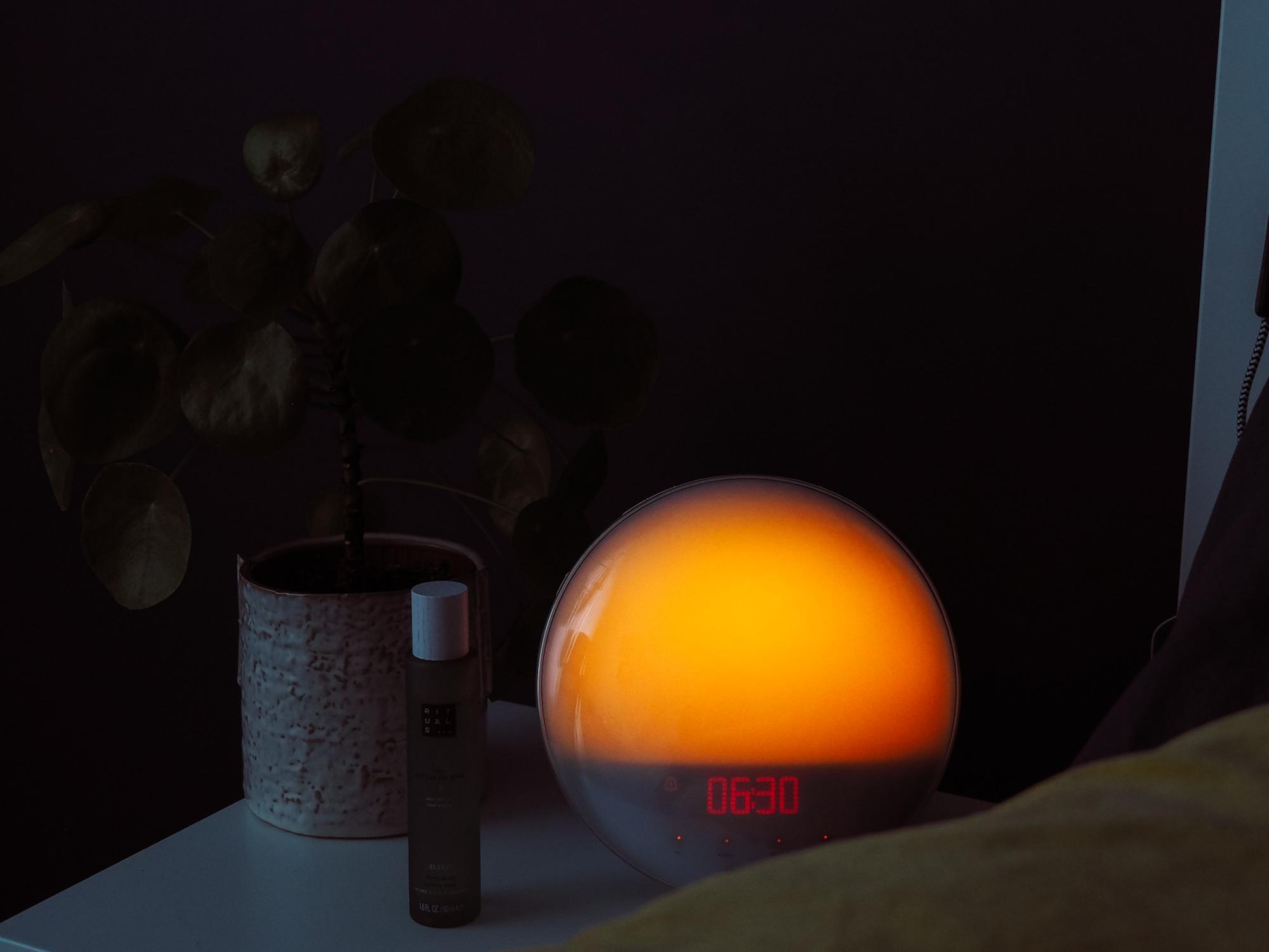 Wake up Light ritme thuiswerken